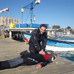 Buceo Algarrobo Chile Emergency First Response